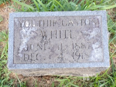 WHITE, YOUTHIR GASTON - Madison County, Tennessee | YOUTHIR GASTON WHITE - Tennessee Gravestone Photos