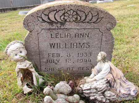 WILLIAMS, LELIA ANN - Madison County, Tennessee | LELIA ANN WILLIAMS - Tennessee Gravestone Photos