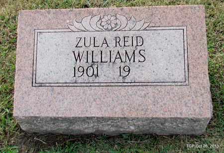 WILLIAMS, ZULA - Madison County, Tennessee | ZULA WILLIAMS - Tennessee Gravestone Photos
