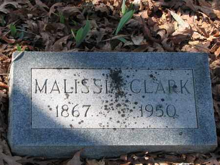 CLARK, MALISSIA - Marshall County, Tennessee | MALISSIA CLARK - Tennessee Gravestone Photos