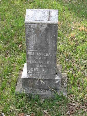 DAVIS, WILLIAM R. - Marshall County, Tennessee | WILLIAM R. DAVIS - Tennessee Gravestone Photos