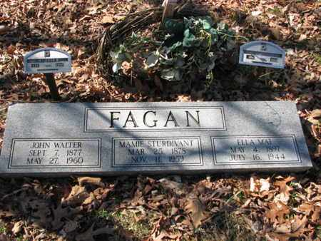 STURDIVANT FAGAN, MAMIE - Marshall County, Tennessee | MAMIE STURDIVANT FAGAN - Tennessee Gravestone Photos