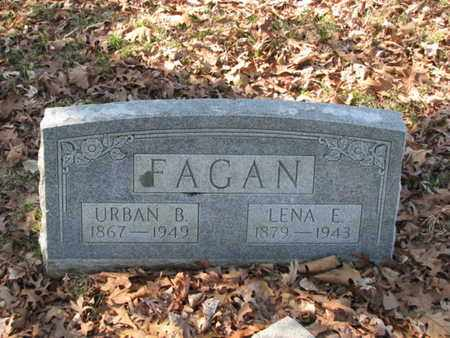 FAGAN, LENA E. - Marshall County, Tennessee | LENA E. FAGAN - Tennessee Gravestone Photos