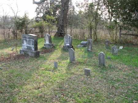 *MOSES FAMILY CEMETERY VIEW,  - Marshall County, Tennessee |  *MOSES FAMILY CEMETERY VIEW - Tennessee Gravestone Photos