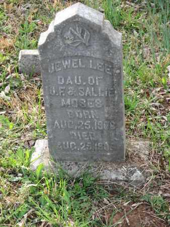 MOSES, JEWEL LEE - Marshall County, Tennessee | JEWEL LEE MOSES - Tennessee Gravestone Photos