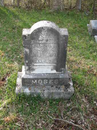 MOSES, SAMUEL G. - Marshall County, Tennessee   SAMUEL G. MOSES - Tennessee Gravestone Photos