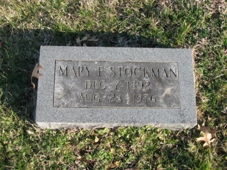 FRANKS STOCKMAN, MARY FLORENCE - Marshall County, Tennessee | MARY FLORENCE FRANKS STOCKMAN - Tennessee Gravestone Photos