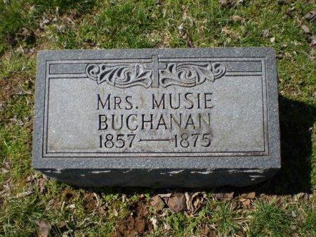 BUCHANAN, MRS. MUSIE - Maury County, Tennessee | MRS. MUSIE BUCHANAN - Tennessee Gravestone Photos