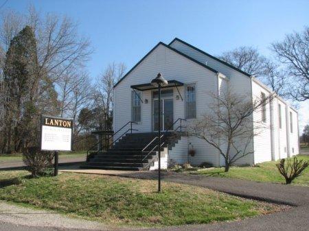 *LANTON CHURCH,  - Maury County, Tennessee |  *LANTON CHURCH - Tennessee Gravestone Photos