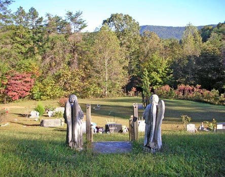 *CEMETERY VIEW,  - McMinn County, Tennessee |  *CEMETERY VIEW - Tennessee Gravestone Photos