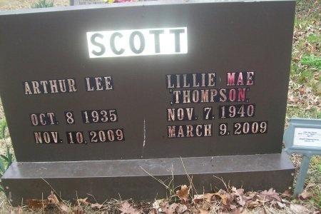 THOMPSON SCOTT, LILLIE MAE - McMinn County, Tennessee | LILLIE MAE THOMPSON SCOTT - Tennessee Gravestone Photos
