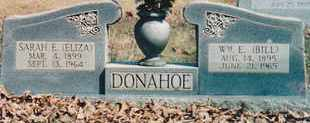 DONAHOE, SARAH E. - McNairy County, Tennessee | SARAH E. DONAHOE - Tennessee Gravestone Photos
