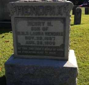 HENDRIX, HENRY M. - McNairy County, Tennessee | HENRY M. HENDRIX - Tennessee Gravestone Photos