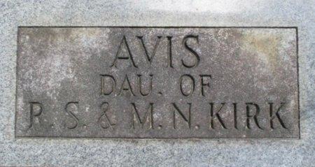 KIRK, AVIS - McNairy County, Tennessee | AVIS KIRK - Tennessee Gravestone Photos