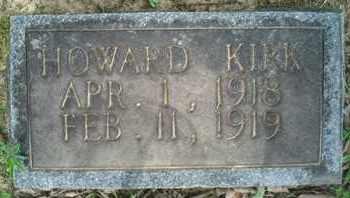 KIRK, HOWARD - McNairy County, Tennessee   HOWARD KIRK - Tennessee Gravestone Photos