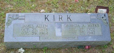 KIRK, GEORGIA A. - McNairy County, Tennessee | GEORGIA A. KIRK - Tennessee Gravestone Photos