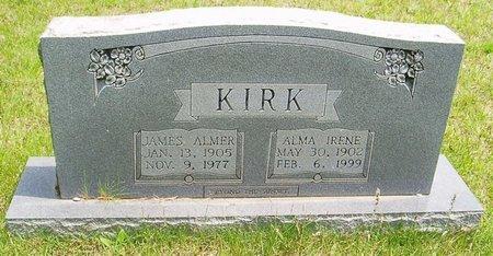 KIRK, JAMES ALMER - McNairy County, Tennessee | JAMES ALMER KIRK - Tennessee Gravestone Photos