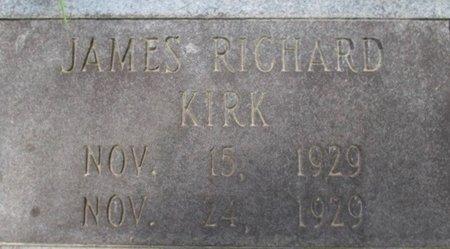 KIRK, JAMES RICHARD - McNairy County, Tennessee | JAMES RICHARD KIRK - Tennessee Gravestone Photos