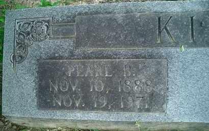 KIRK, PEARL B - McNairy County, Tennessee   PEARL B KIRK - Tennessee Gravestone Photos