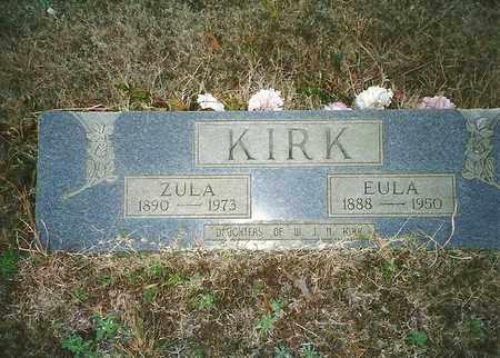 KIRK, ZULA - McNairy County, Tennessee | ZULA KIRK - Tennessee Gravestone Photos