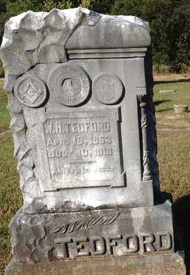 TEDFORD, W. H. - McNairy County, Tennessee   W. H. TEDFORD - Tennessee Gravestone Photos