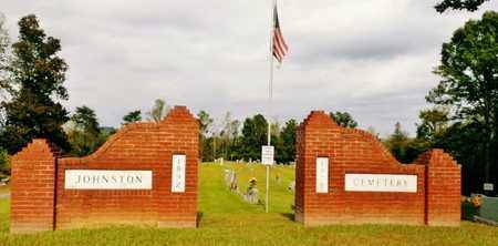 *JOHNSTON CEMETERY ENTRANCE,  - Meigs County, Tennessee |  *JOHNSTON CEMETERY ENTRANCE - Tennessee Gravestone Photos