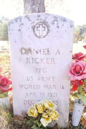 RICKER (VETERAN WWII), DANIEL ASBURY - Meigs County, Tennessee | DANIEL ASBURY RICKER (VETERAN WWII) - Tennessee Gravestone Photos