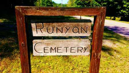 *RUNYON CEMETERY ENTRANCE,  - Meigs County, Tennessee |  *RUNYON CEMETERY ENTRANCE - Tennessee Gravestone Photos
