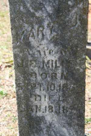 BURGER MILLER, MARY JANE - Monroe County, Tennessee | MARY JANE BURGER MILLER - Tennessee Gravestone Photos