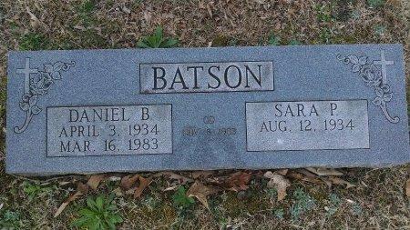 BATSON, DANIEL B. - Montgomery County, Tennessee | DANIEL B. BATSON - Tennessee Gravestone Photos