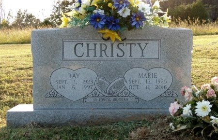 CHRISTY, MARIE - Montgomery County, Tennessee | MARIE CHRISTY - Tennessee Gravestone Photos