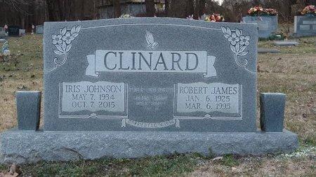 JOHNSON CLINARD, IRIS - Montgomery County, Tennessee | IRIS JOHNSON CLINARD - Tennessee Gravestone Photos