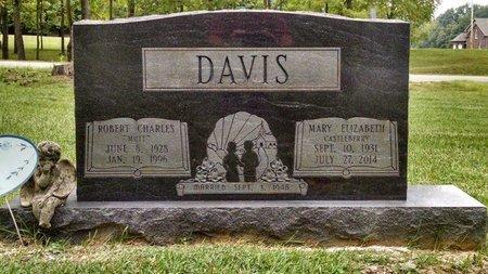 CASTLEBERRY DAVIS, MARY ELIZABETH - Montgomery County, Tennessee | MARY ELIZABETH CASTLEBERRY DAVIS - Tennessee Gravestone Photos