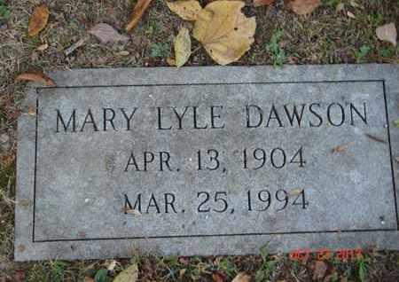 DAWSON, MARY - Montgomery County, Tennessee | MARY DAWSON - Tennessee Gravestone Photos
