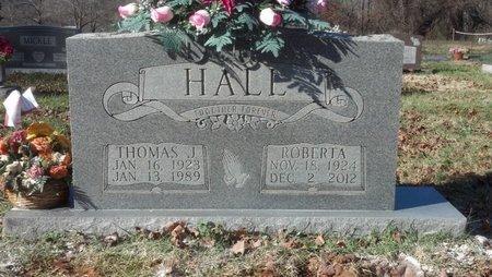 HALL, THOMAS J. - Montgomery County, Tennessee | THOMAS J. HALL - Tennessee Gravestone Photos