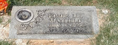 MAYFIELD, HOMER LEE - Montgomery County, Tennessee | HOMER LEE MAYFIELD - Tennessee Gravestone Photos