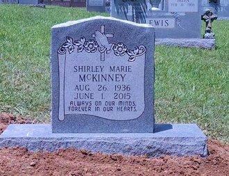 MCKINNEY, SHIRLEY MARIE - Montgomery County, Tennessee   SHIRLEY MARIE MCKINNEY - Tennessee Gravestone Photos