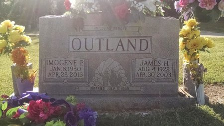 OUTLAND, IMOGENE - Montgomery County, Tennessee | IMOGENE OUTLAND - Tennessee Gravestone Photos