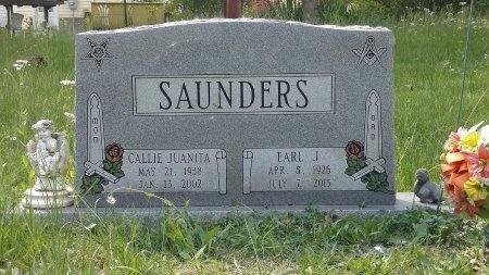 SAUNDERS, CALLIE JUANITA - Montgomery County, Tennessee | CALLIE JUANITA SAUNDERS - Tennessee Gravestone Photos