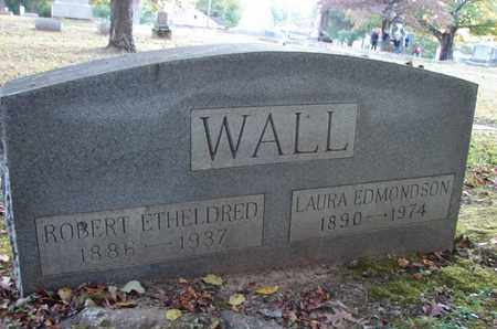 WALL, ROBERT ETHELDRED - Montgomery County, Tennessee   ROBERT ETHELDRED WALL - Tennessee Gravestone Photos