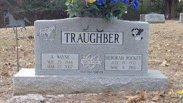 ROCKEY TRAUGHBER, DEBORAH - Montgomery County, Tennessee | DEBORAH ROCKEY TRAUGHBER - Tennessee Gravestone Photos
