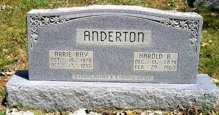 RAY ANDERTON, ARRIE - Moore County, Tennessee | ARRIE RAY ANDERTON - Tennessee Gravestone Photos