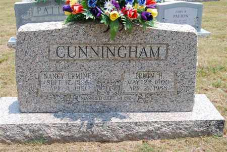 CUNNINGHAM, NANCY ERMINE - Moore County, Tennessee | NANCY ERMINE CUNNINGHAM - Tennessee Gravestone Photos
