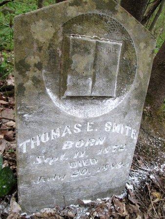SMITH, THOMAS E. - Moore County, Tennessee | THOMAS E. SMITH - Tennessee Gravestone Photos