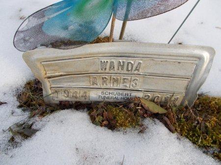 HOOPER ARMES, WANDA - Morgan County, Tennessee | WANDA HOOPER ARMES - Tennessee Gravestone Photos