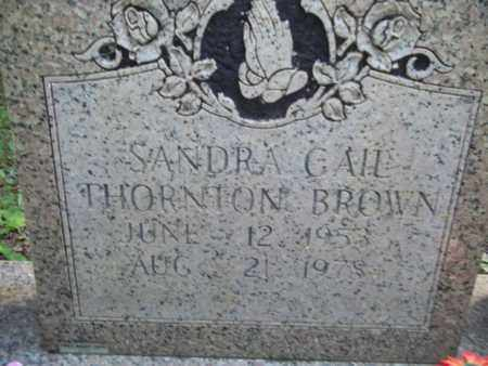 BROWN, SANDRA GAIL - Morgan County, Tennessee | SANDRA GAIL BROWN - Tennessee Gravestone Photos