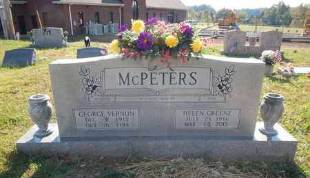 MCPETERS, GEORGE VERNON - Morgan County, Tennessee | GEORGE VERNON MCPETERS - Tennessee Gravestone Photos
