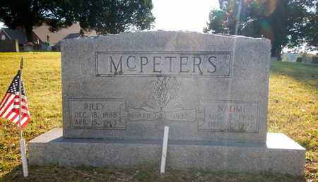 MCPETERS, RILEY - Morgan County, Tennessee | RILEY MCPETERS - Tennessee Gravestone Photos