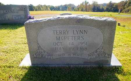 MCPETERS, TERRY LYNN - Morgan County, Tennessee | TERRY LYNN MCPETERS - Tennessee Gravestone Photos