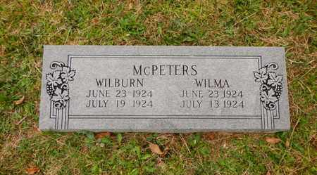 MCPETERS, WILBURN - Morgan County, Tennessee | WILBURN MCPETERS - Tennessee Gravestone Photos